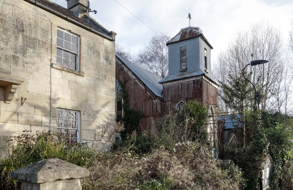 photoblog image TIN TABERNACLE